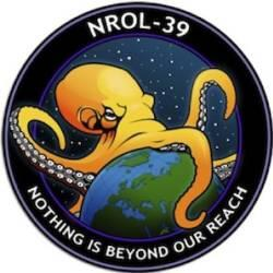 logo taken from an actual NSA spy satellite exterior called: NROL-39. PBS' United ...