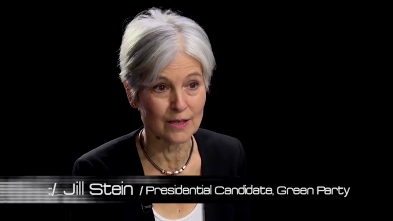 JILL STEIN SCREENSHOT