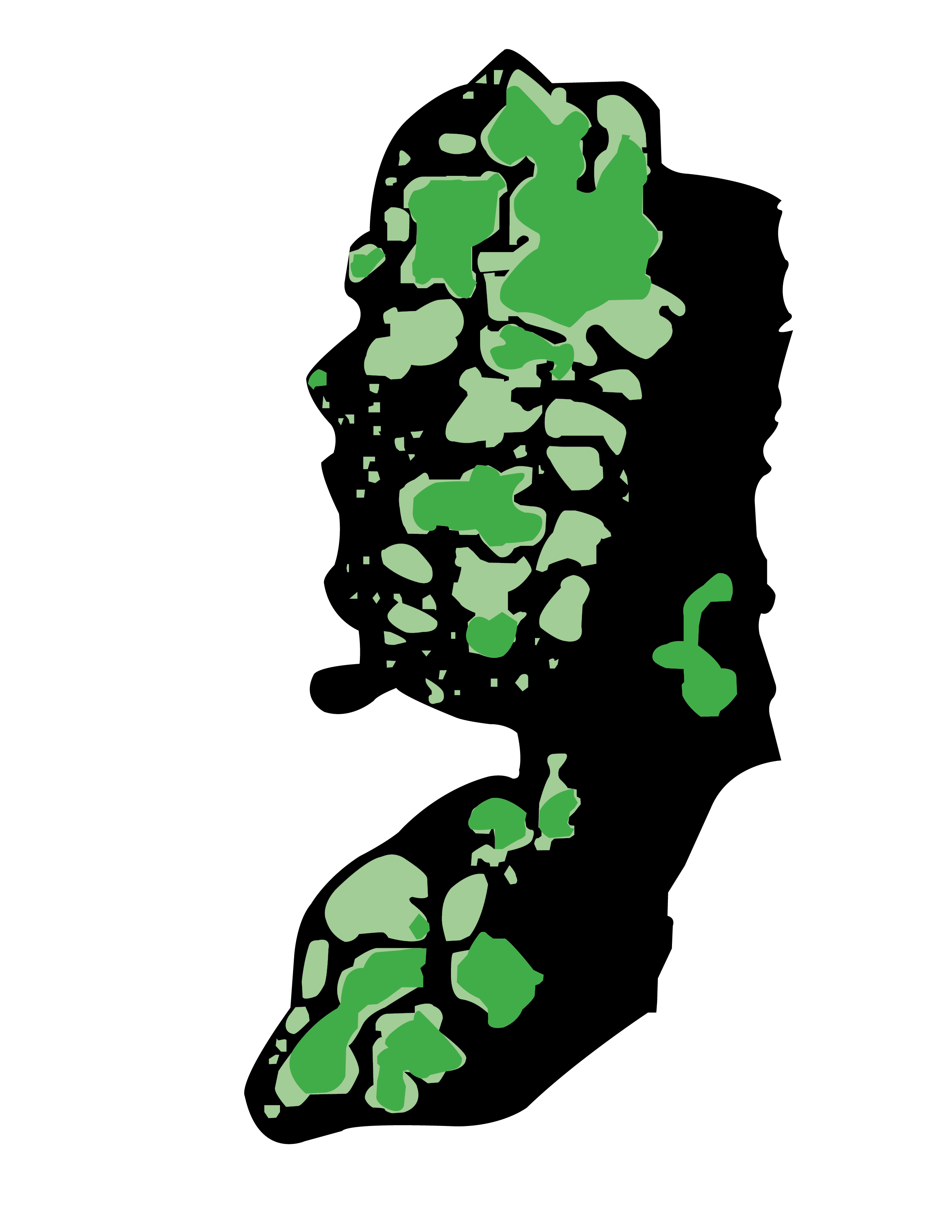 WEST BANK MAP 3