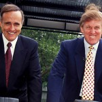 Jan. 1, 2011 - K1955RHART              SD0621.TRUMP INTERNATIONAL HOTEL AND TOWER GROUNDBREAKING CEREMONY.RUDY GIULIANI AND DONALD TRUMP. ROSE HARTMAN/   1995(Credit Image: © Globe Photos/ZUMAPRESS.com)